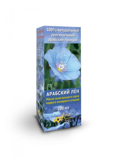 МАСЛО АРАБСКИЙ ЛЁН 100% масло льна высшего сорта первого холодного отжима