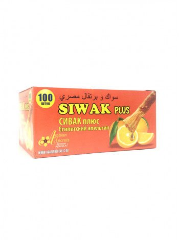 Жевательная резинка с экстрактом сивака Siwak Plus Сивак плюс Египетский Апельсин