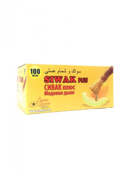 Жевательная резинка с экстрактом сивака Siwak Plus Сивак плюс Медовая Дыня
