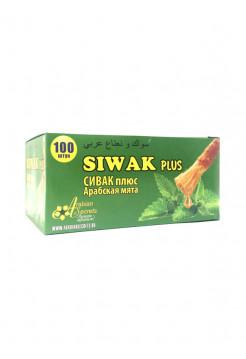 Жевательная резинка с экстрактом сивака Siwak Plus Сивак плюс Арабская Мята